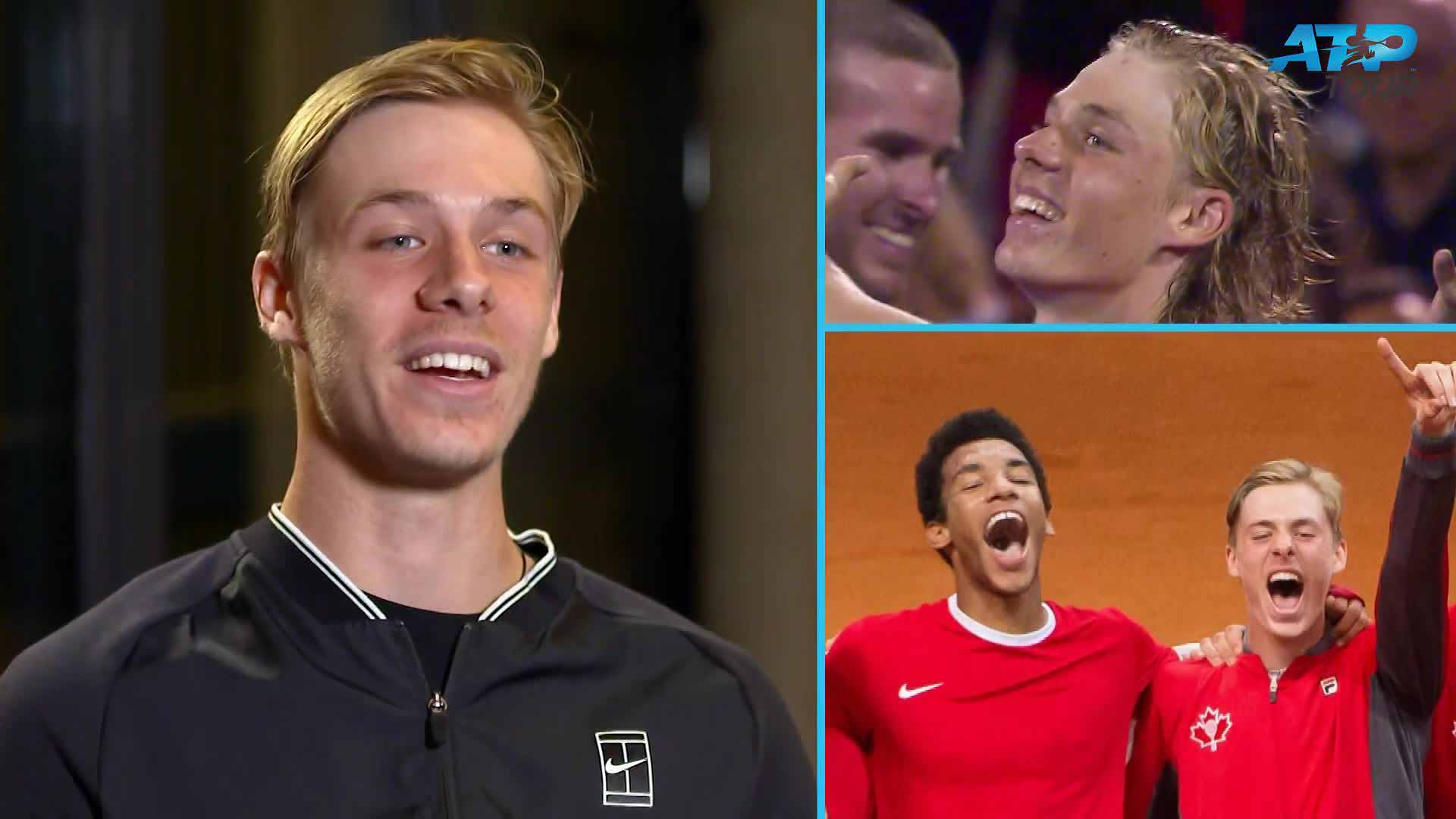 Denis Shapovalov looks back on the time he stayed at Felix Auger-Aliassime's house and took down his Rafael Nadal poster.