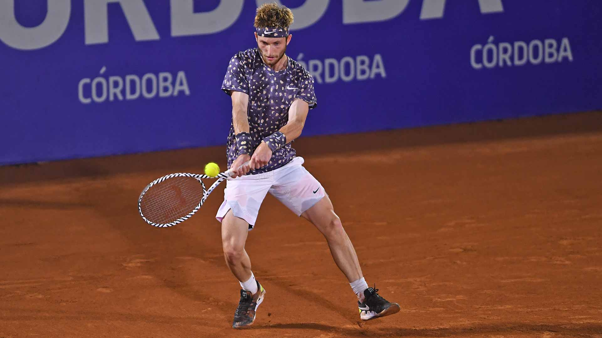 Corentin Moutet reaches his second ATP Tour quarter-final of 2020 on Wednesday in Cordoba.
