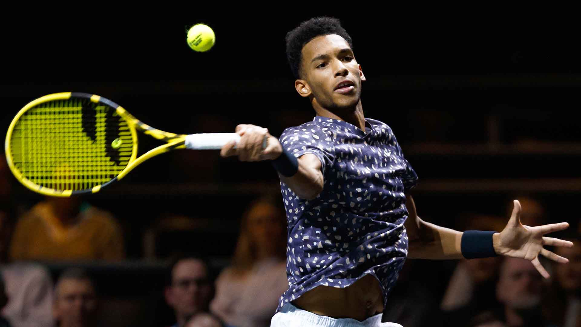 Felix Auger-Aliassime has reached two ATP Tour semi-finals this year.