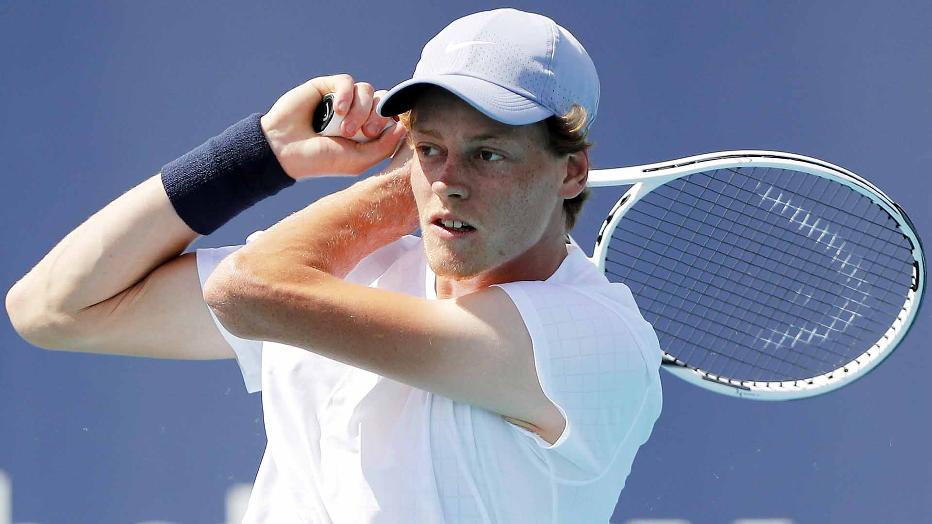 Jannik Sinner is making his debut at the Miami Open presented by Itau this year.