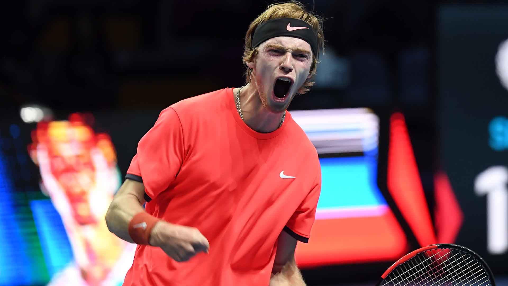 Rublev Milan 2018 Friday Celebration